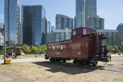 Toronto railway museum Stock Image