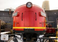 Canadian locomotive at the Museum Royalty Free Stock Images
