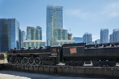 Toronto railway museum Royalty Free Stock Photos