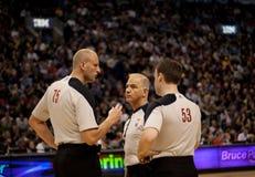 Toronto Rapters contre Los Angeles Lakers Image libre de droits