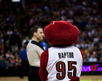 Toronto Rapters contre Los Angeles Lakers Photo stock