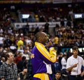 Toronto Rapters contro Los Angeles Lakers Fotografie Stock Libere da Diritti