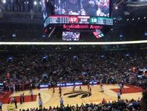 Toronto Raptors à l'arène de Scotiabank photographie stock