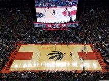 Toronto Raptors all'arena di Scotiabank fotografia stock