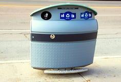 Toronto Recycling Bin Royalty Free Stock Image