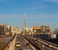 Toronto at Rush Hour Stock Photos