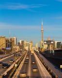 Toronto at Rush Hour Royalty Free Stock Photography