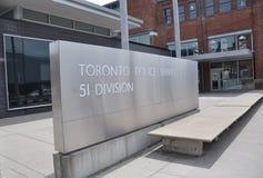 Toronto służba policyjna obrazy royalty free