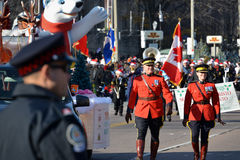 Toronto's 108th Santa Claus Parade Royalty Free Stock Photos