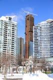 Skyscraper Construction in Toronto Stock Images