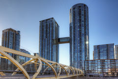 Toronto's CityPlace condominiums in the city center Stock Images