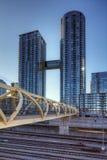 Toronto's CityPlace condominiums near Lake Ontario Royalty Free Stock Images