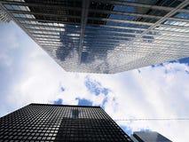 Toronto& x27; s drapacze chmur Zdjęcie Royalty Free