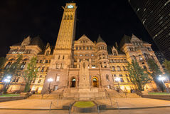 Toronto's Old City Hall Stock Images