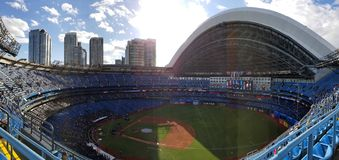 Toronto& x27;s stadium. stock photo