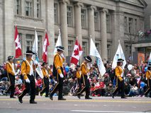 Toronto Santa Claus Parade 2009 Stock Images