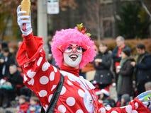 Toronto 2013 Santa Claus Parade Fotografering för Bildbyråer
