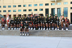 Toronto Scottish Regiment 6 Royalty Free Stock Photography