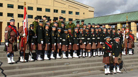 Toronto Scottish Regiment 8 Stock Image