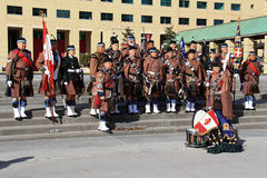 Toronto Scottish Regiment 9 Stock Photos
