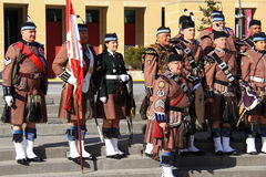 Toronto Scottish Regiment 11 Royalty Free Stock Photos