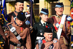 Toronto Scottish Regiment 12 Stock Photo