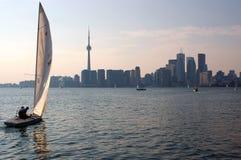 Toronto-Segeln stockfotos