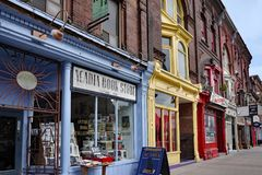 Victorian commercial buildings in Toronto Royalty Free Stock Photography