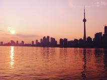Toronto sikt royaltyfri bild
