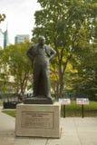 Toronto Sir Winston Churchill byst, Kanada Fotografering för Bildbyråer
