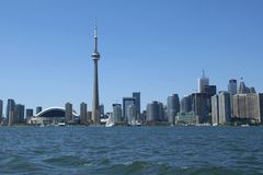 Toronto Skyline Royalty Free Stock Photography