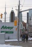 Toronto-Skyline lizenzfreies stockbild