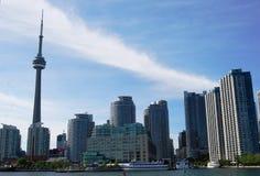 Toronto Skyline. Toronto Waterfront Skyline Modern Architecture Stock Photo