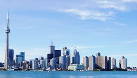 Toronto Skyline. Downtown Toronto Skyline in Ontario, Canada Stock Photography