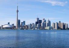 Toronto Skyline. Downtown Toronto Skyline in Ontario, Canada Royalty Free Stock Photos