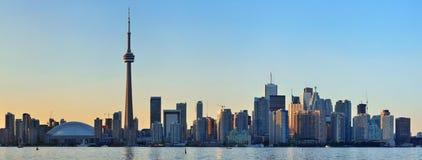 Toronto-Skyline lizenzfreie stockfotos