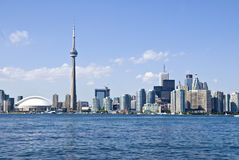 The Toronto Skyline Royalty Free Stock Photos
