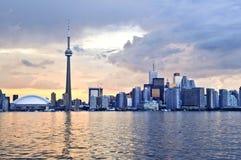 Toronto skyline Royalty Free Stock Photos