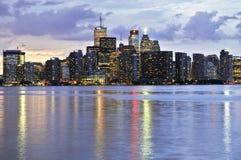 Toronto skyline Royalty Free Stock Photography