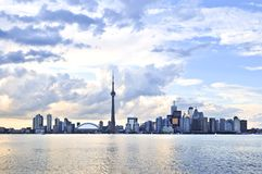 Toronto skyline Royalty Free Stock Images