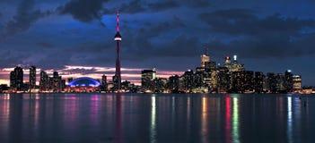 Toronto-Skyline lizenzfreies stockfoto