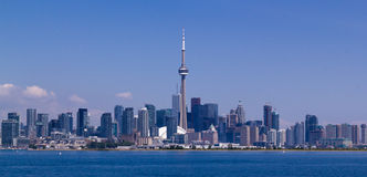 Toronto skyline. Toronto, Canada skyline under a clear sky Stock Photography