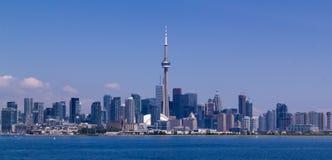 Toronto skyline. Toronto, Canada skyline under a clear sky stock photography