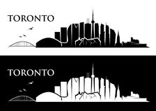 Toronto skyline - Canada - vector illustration Royalty Free Stock Photography