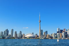 Toronto skyline in the day Royalty Free Stock Image