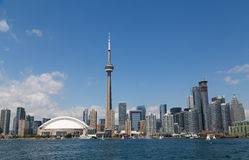 Toronto Skyline During the Day royalty free stock images