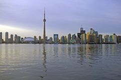 Toronto Skyline From Water Stock Photography