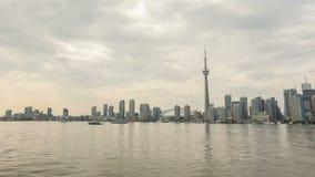 Toronto Skyline in Motion stock footage