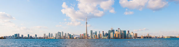 Toronto skyline panorama Royalty Free Stock Image