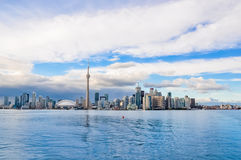 Toronto Skyline. On sunny day, Canada Stock Photography
